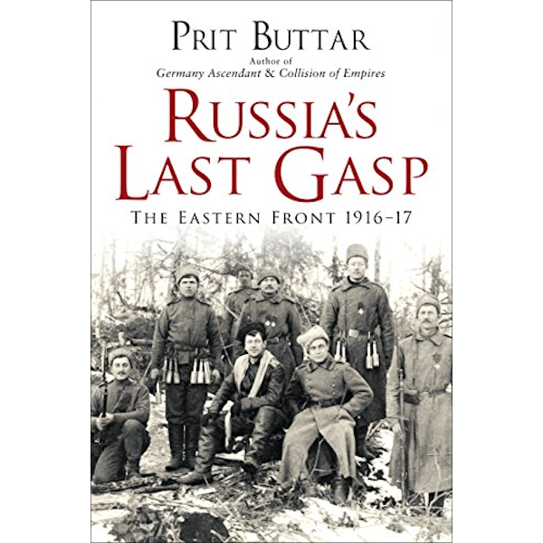 Russia's Last Gasp: The Eastern Front 1916–17 Book Cover